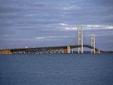 Mackinac Bridge, Michigan, USA Photographic Print