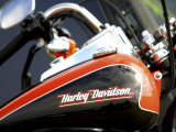 Harley Davidson Motorcycle Photographie