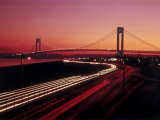 Verrazano-Narrows Bridge, New York City, USA Lámina fotográfica