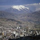 La Paz, Bolivia Photographic Print
