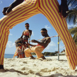 Limbo Dance, Barbados Photographic Print