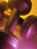 Close-up of Dumbbells Photographic Print