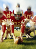 Youth Football Photographic Print