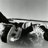 Close-up of a Pair of Ice Skates Reprodukcja zdjęcia