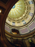 State Capitol, Lansing, Michigan, USA Photographic Print