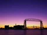 Aerial Lift Bridge, Duluth, Minnesota, USA Photographic Print