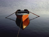 Rowboat with Reflection Photographic Print