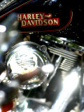 Close-up of a Motorcycle Photographic Print
