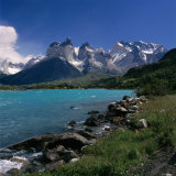 Cuernos Del Paine, Torres Del Paine National Park, Chile Photographic Print