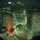 Business District, Sao Paulo, Brazil, Photographic Print