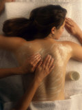 Relaxing Massage Photographic Print