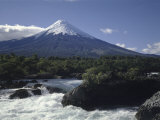 Osorno Volcano, Chile Fotografická reprodukce