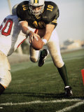 Men Playing American Football Photographic Print
