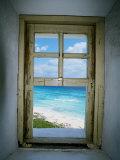 Celarain Deniz Feneri, Cozumel, Meksika - Fotografik Baskı