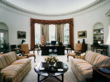 Oval Office the White House Washington, D.C. USA Photographic Print