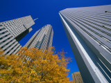 Prudential and Amoco Towers, Chicago, Illinois, USA Photographic Print