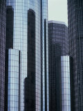 High Rise Office Buildings Photographic Print
