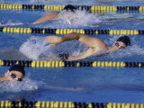 Competitive Swimming Photographic Print