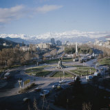 Plaza Italia, Santiago, Chile Photographic Print