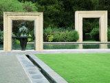 Woman's Garden, Dallas Arboretum, Dallas Texas, USA Photographic Print