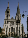 Chartres Cathedral, Chartres, France Photographic Print