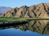 La Quinta Golf Course, California, USA Lámina fotográfica