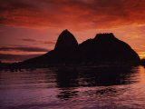 Sugar Loaf Mountain, Guanabara Bay, Rio de Janeiro, Brazil Photographic Print