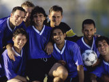 Soccer Team Photographic Print