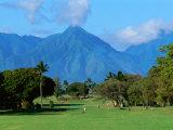 Maui Country Club, Spreckelsville, Maui, Hawaii, USA Photographic Print