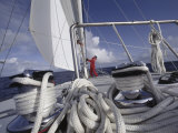Ropes on a Sailboat Photographic Print