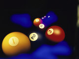 Pool Balls Photographic Print
