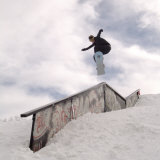 Snowboarding Lmina fotogrfica