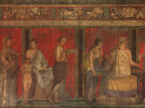 Villa of the Mysteries Pompeii Italy Fotografie-Druck