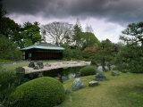 Seiryuen Garden, Nijo Castle, Kyoto, Japan Photographic Print