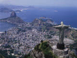 Christ the Redeemer Statue Rio de Janeiro, Brazil Fotografie-Druck