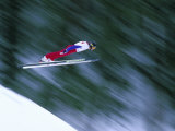 Nordic Ski Jumping, Steamboat Springs, Colorado, USA Photographic Print