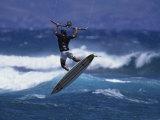 Kite Surfing Photographic Print
