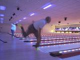 Black Light Bowling Photographic Print