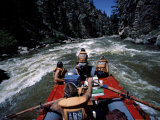 White Water Rafting Photographic Print