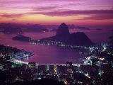 Sugar Loaf Mountain, Guanabara Bay, Rio de Janeiro, Brazil Reproduction photographique