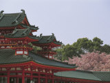 Heian Shrine, Kyoto, Japan Photographic Print
