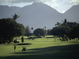 Maui Country Club, Maui, Hawaii, USA Lámina fotográfica