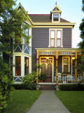 Victorian Style Home Photographic Print