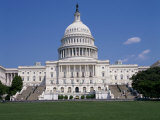 Capitol Building, Washington, D.C., USA Photographic Print