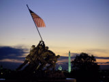 U.S. Marine Corps War Memorial Arlington National Cemetery Arlington Virginia, USA Fotoprint