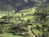 Galeras Valley, Colombia, Photographic Print