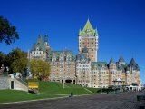 Chateau Frontenac Quebec City Quebec Canada Photographic Print