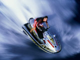 Person Riding a Jet Ski Photographic Print