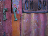 Close-up of a Door Photographic Print