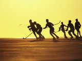 Roller Hockey Photographic Print